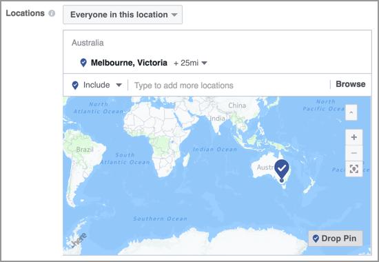 Facebook Business Targeting