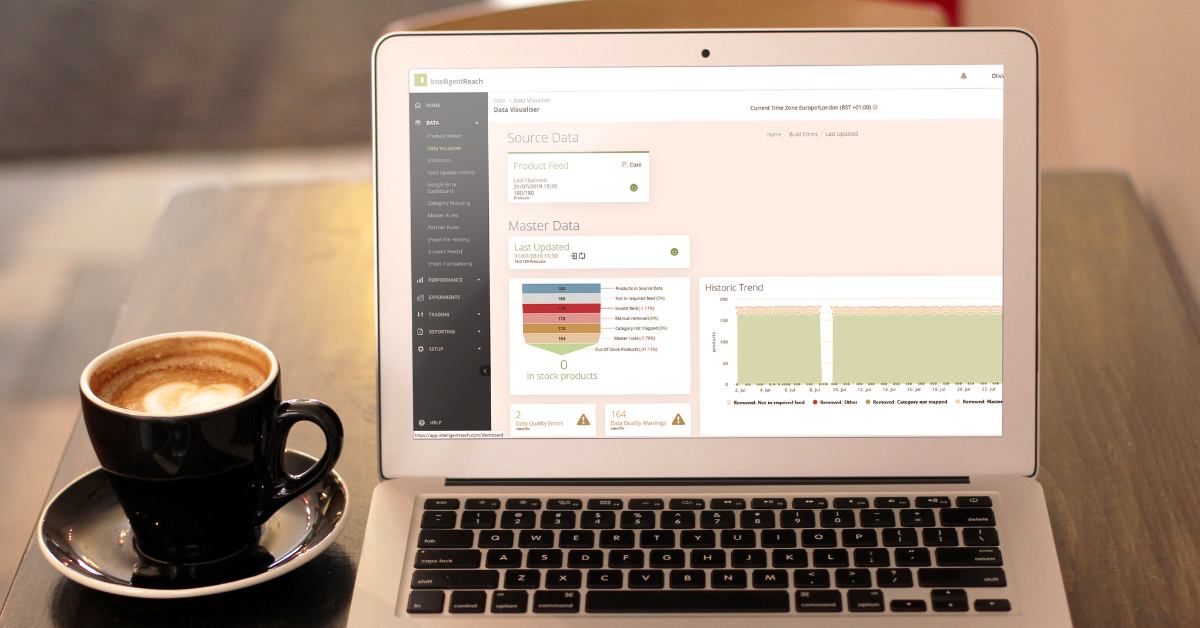 Product-Data-Visualiser-Intelligent-Reach