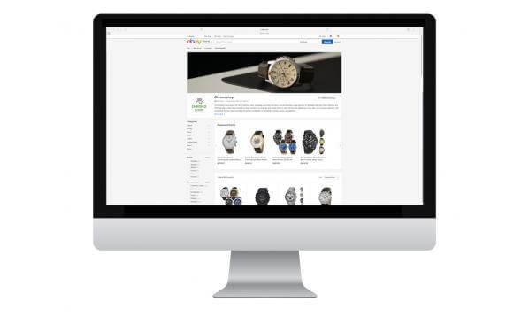 shopfront example eBay