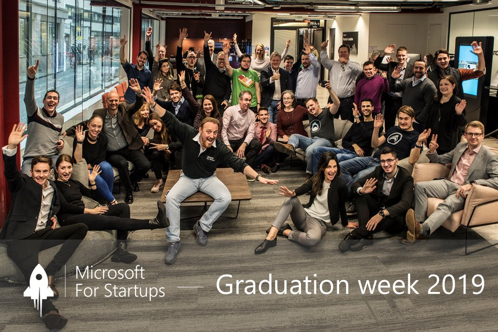 Microsoft for Startups Grad Week 2019